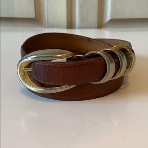 Vintage Ritz Genuine Leather Belt